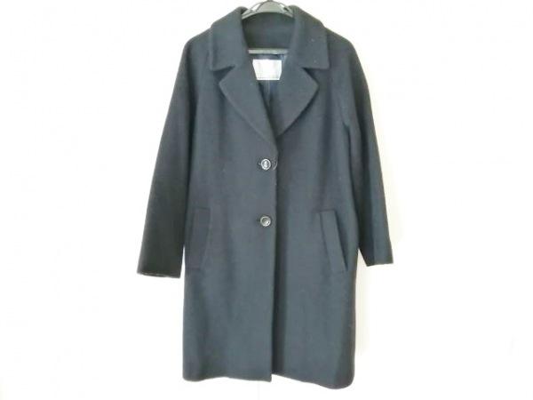 ecruefil(エクリュフィル) コート サイズ3 L レディース ネイビー 冬物