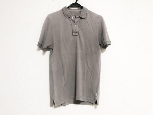 eleventy(イレブンティ) 半袖ポロシャツ サイズS レディース ダークグレー