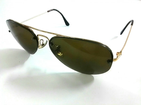 レイバン サングラス RB3157 ダークブラウン×ゴールド 金属素材×プラスチック