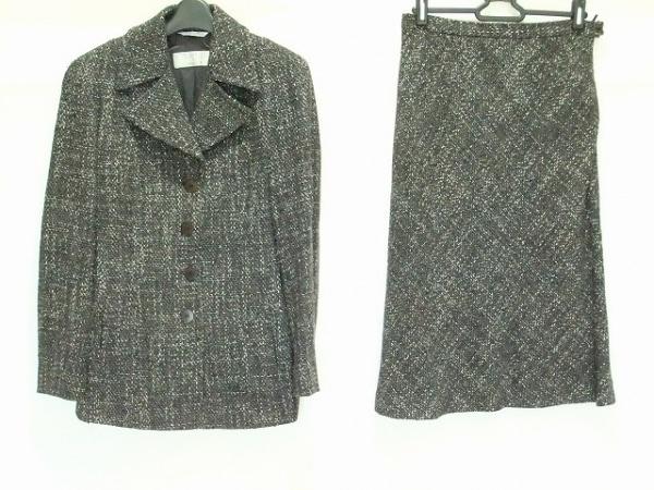 Max Mara(マックスマーラ) スカートスーツ サイズ40 M レディース 肩パッド/ツイード