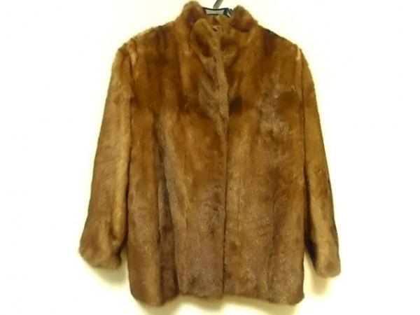 ROTINY(ロティニー) コート サイズ13 L レディース美品  ブラウン ミンクファー