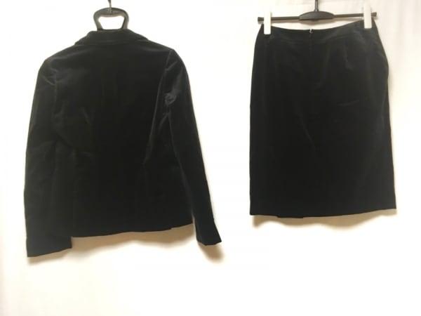 エムエフエディトリアル スカートスーツ サイズM レディース美品  黒 ベロア