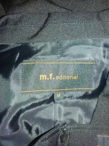 エムエフエディトリアル スカートスーツ サイズM レディース 黒 3点セット