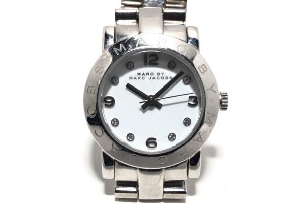 MARC BY MARC JACOBS(マークジェイコブス) 腕時計 MBM3055 レディース 白