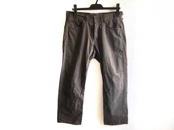 ポールスミスジーンズ パンツ サイズ30 メンズ ダークブラウン×ダークグレー