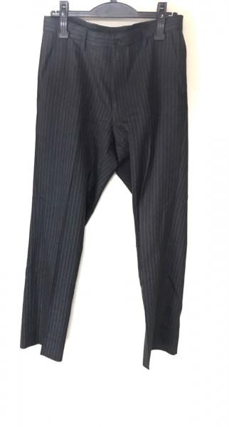 JUN MEN(ジュンメン) シングルスーツ メンズ 黒×白 ストライプ