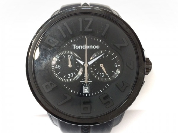 TENDENCE(テンデンス) 腕時計 S04P メンズ 黒