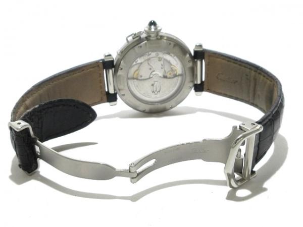 Cartier(カルティエ) 腕時計 パシャ38 GMT W3105055 メンズ 黒