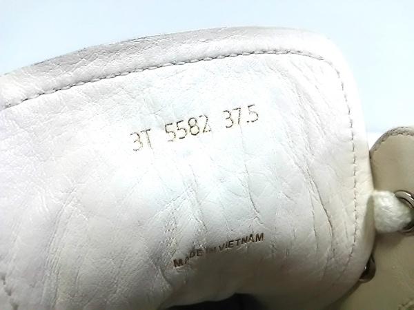 PRADA SPORT(プラダスポーツ) スニーカー 37.5 レディース 白×シルバー