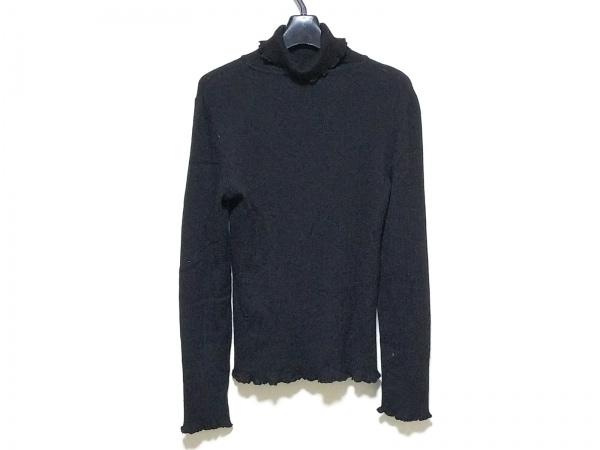 INGEBORG(インゲボルグ) 長袖セーター レディース 黒 タートルネック