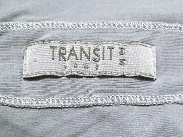 TRANSIT(トランジット) 半袖Tシャツ サイズM メンズ グレー