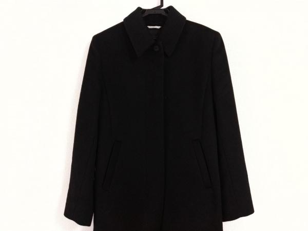 Max Mara(マックスマーラ) コート サイズUSA 8 レディース 黒 ロング丈/冬物
