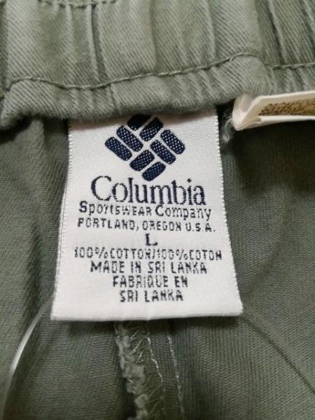 columbia(コロンビア) ショートパンツ サイズL メンズ カーキ