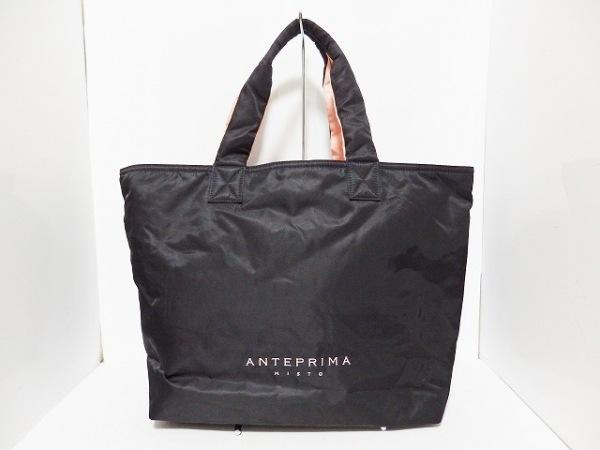 ANTEPRIMA MISTO(アンテプリマミスト) トートバッグ 黒×ピンク ナイロン