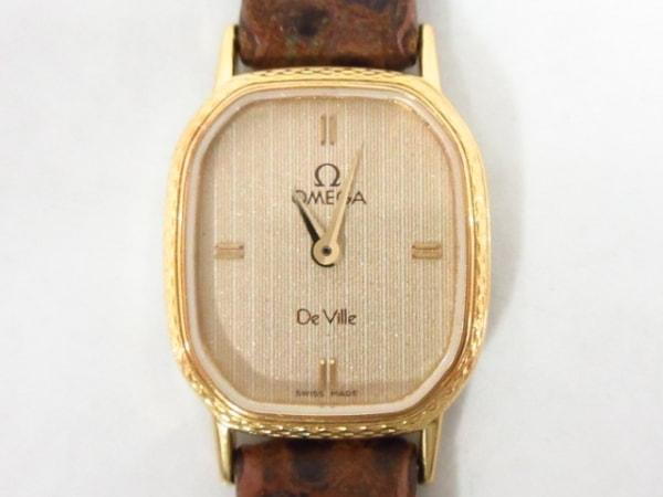 OMEGA(オメガ) 腕時計 De Vile 1387 レディース ベージュ