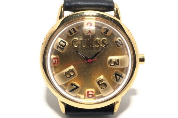 GUESS(ゲス) 腕時計 - メンズ ゴールド