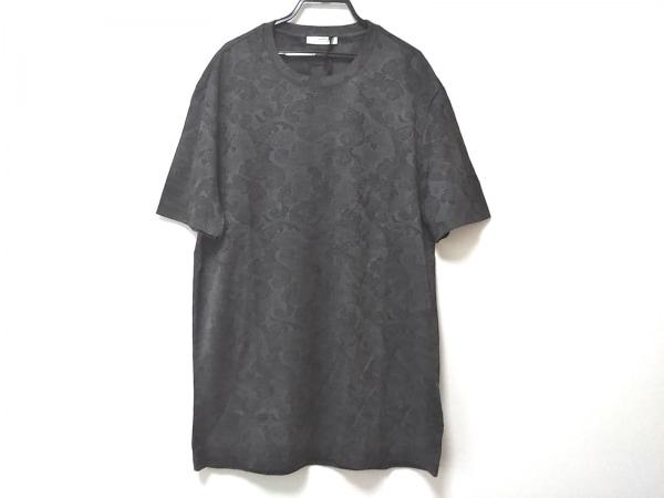 ヴェルサーチクラシック 半袖Tシャツ サイズM メンズ新品同様  グレー×ダークグレー