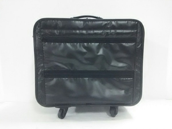 PORTER/吉田(ポーター) キャリーバッグ - 黒 PVC(塩化ビニール)