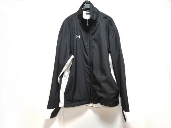 UNDER ARMOUR(アンダーアーマー) ジャージ サイズSM メンズ美品  黒×白
