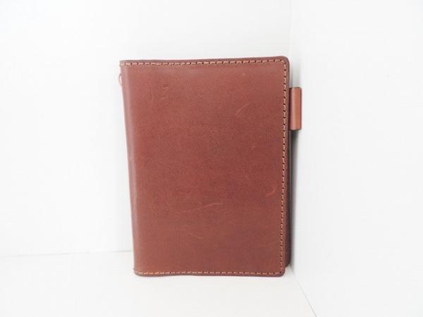 HERZ(ヘルツ) 手帳 ブラウン 手帳カバー レザー