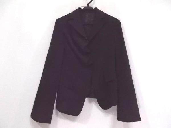 bajra(バジュラ) ジャケット レディース 黒 変形デザイン