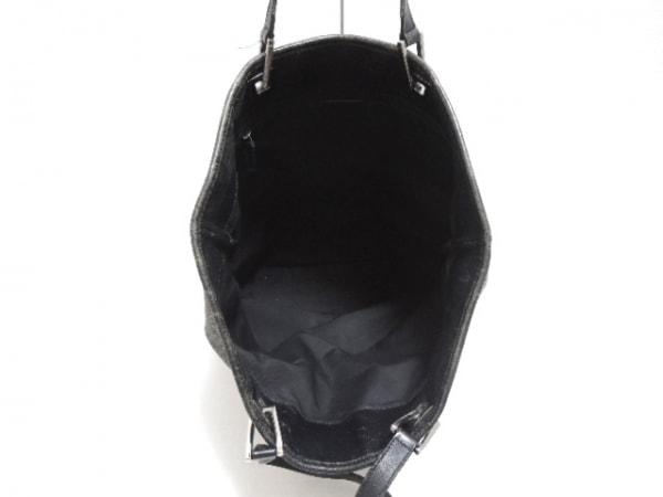 f4fcc696cfb8 ... GUCCI(グッチ) トートバッグ GG柄 31243 黒×アイボリー ジャガード×レザー ...