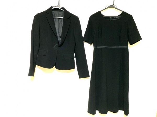 COMME CA ISM(コムサイズム) ワンピーススーツ サイズS レディース美品  黒