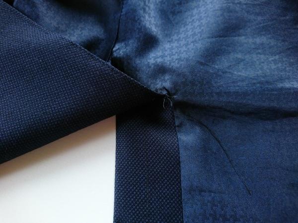 エムエフエディトリアル シングルスーツ サイズAB7 メンズ ネイビー×黒 3点セット