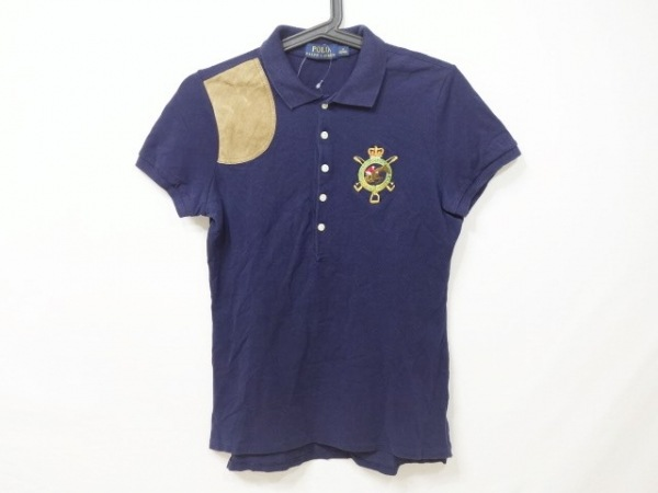 RalphLauren(ラルフローレン) 半袖ポロシャツ サイズM レディース