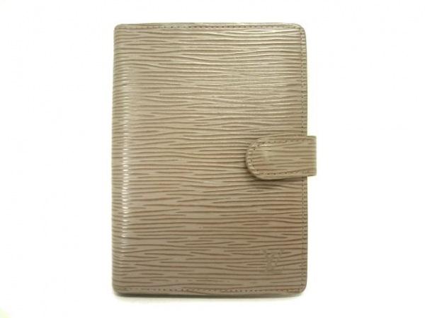 ルイヴィトン 手帳 エピ アジェンダPM R2005B リラ レザー(LVロゴの刻印入り)