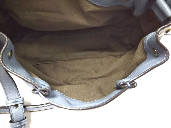 Chloe(クロエ) ハンドバッグ美品  エルシー ライトブルー レザー