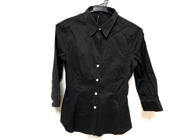 theory(セオリー) 七分袖シャツブラウス サイズ2 S レディース美品  黒