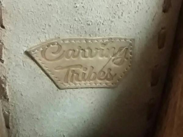 Carving Tribes(カービングトライブス) ハンドバッグ ピンクゴールド レザー