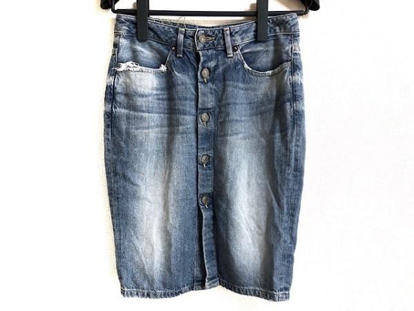 ロンハーマン スカート サイズXS レディース ブルー ダメージ加工/R.H.VINTAGE/デニム