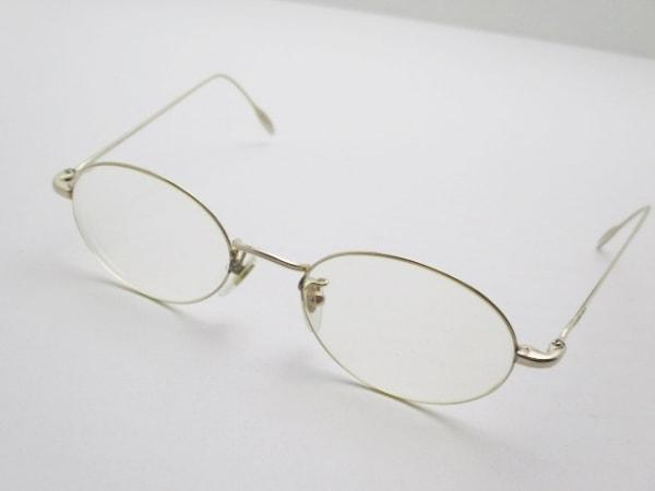 GUCCI(グッチ) メガネ GG-1297J クリア×ゴールド 度入り ガラス×金属素材
