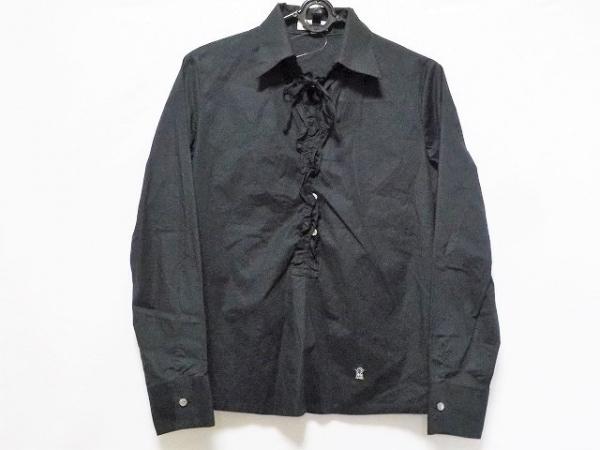 PICONE(ピッコーネ) 長袖シャツブラウス サイズ38 S レディース美品  黒