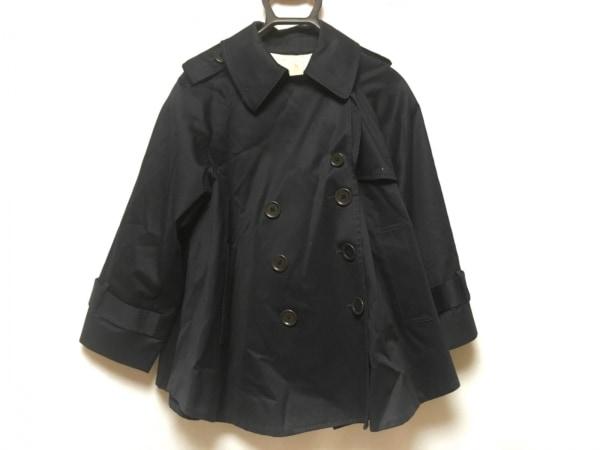 SHIPS(シップス) コート レディース ダークネイビー ショート丈/春・秋物