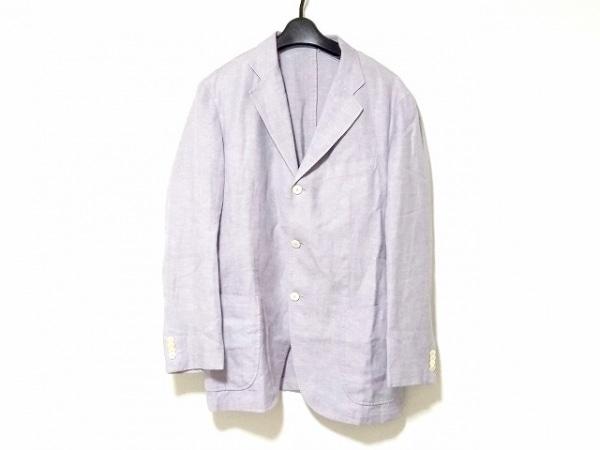 フランコプリンツィバァリー ジャケット サイズ46 XL メンズ グレー 春・秋物