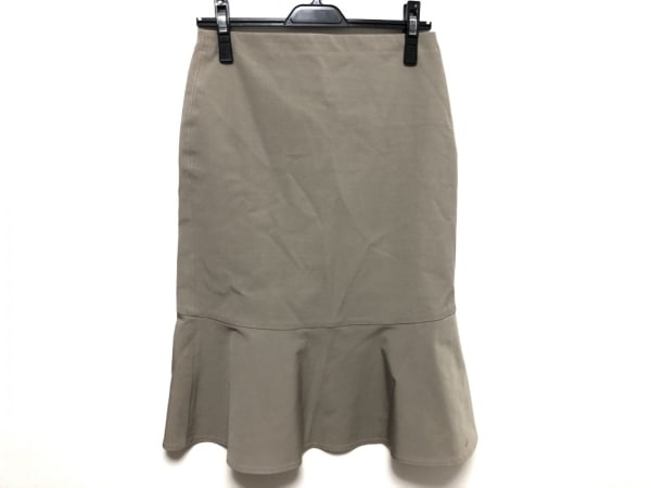 レキップ ヨシエイナバ スカート サイズ9 M レディース美品  ライトグレー