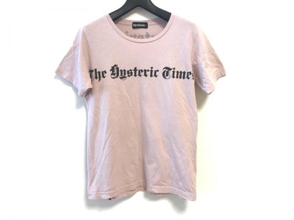 HYSTERIC(ヒステリック) 半袖Tシャツ レディース ピンク×黒