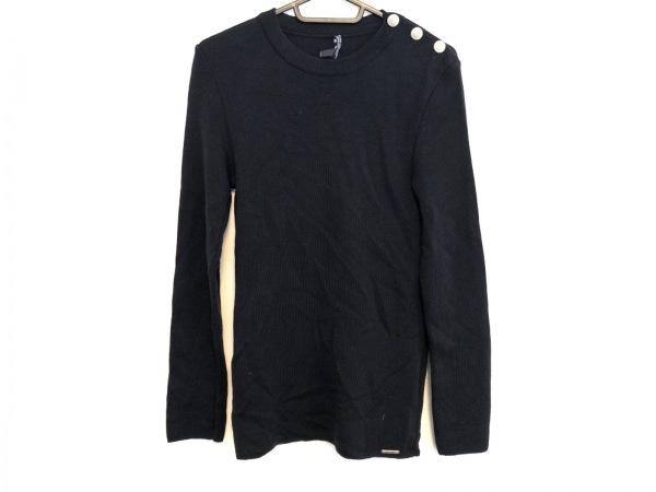 SAINT JAMES(セントジェームス) 長袖セーター メンズ美品  ダークネイビー