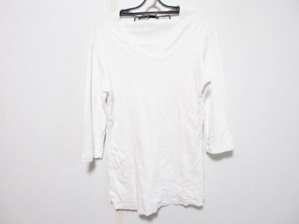 AKM(エーケーエム) 七分袖カットソー サイズXL メンズ 白