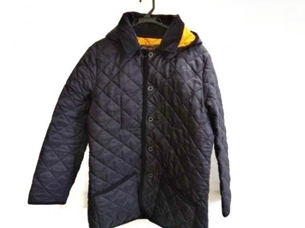 トラディショナルウェザーウェア コート サイズ40 L レディース 黒 キルティング/冬物