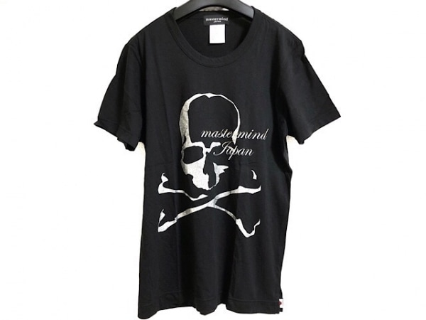マスターマインド 半袖Tシャツ サイズS メンズ 黒×シルバー×マルチ ラメ