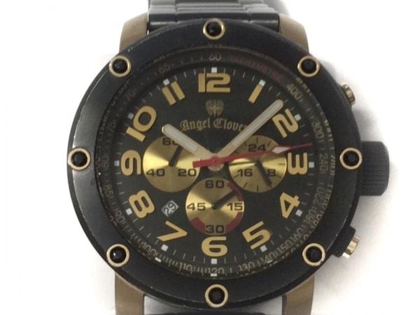 エンジェルクローバー 腕時計 エイトスター ES46 メンズ ラインストーン/クロノグラフ
