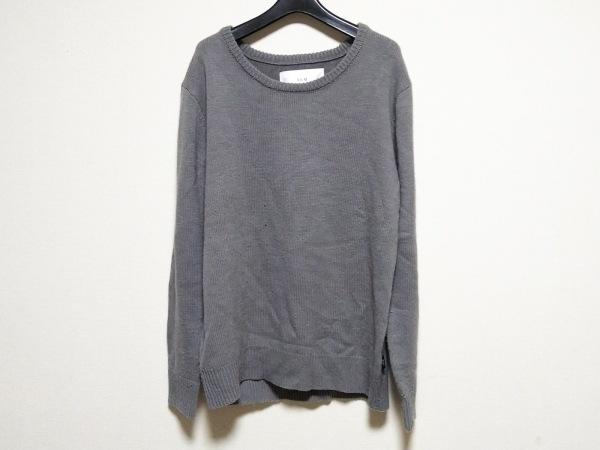 AKM(エーケーエム) 長袖セーター サイズL メンズ グレー