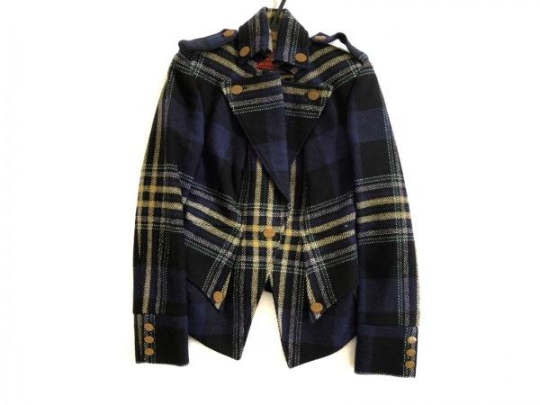ヴィヴィアンウエストウッド ジャケット サイズ42 L メンズ美品  チェック柄/春・秋物