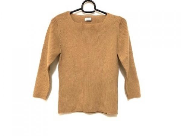 VICTOIRE(ヴィクトワール) 七分袖セーター サイズ38 M レディース美品  ブラウン