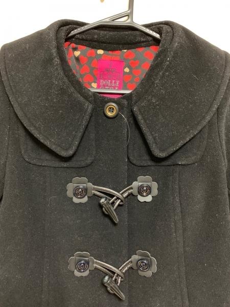 DOLLY GIRL(ドーリーガール) コート サイズ2 S レディース美品  黒 冬物
