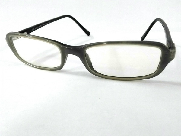 BVLGARI(ブルガリ) メガネ グレー プラスチック